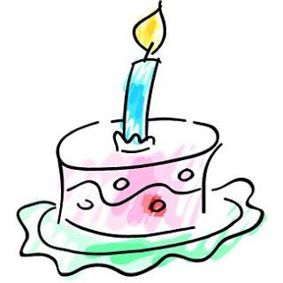Torta Compleanno Stilizzata.Buon Compleanno Essenzialmente Naturale